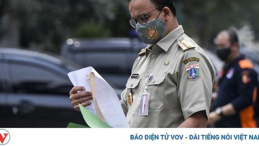 Số ca mắc Covid-19 ở Indonesia tăng kỷ lục sau các vụ tụ tập đông người