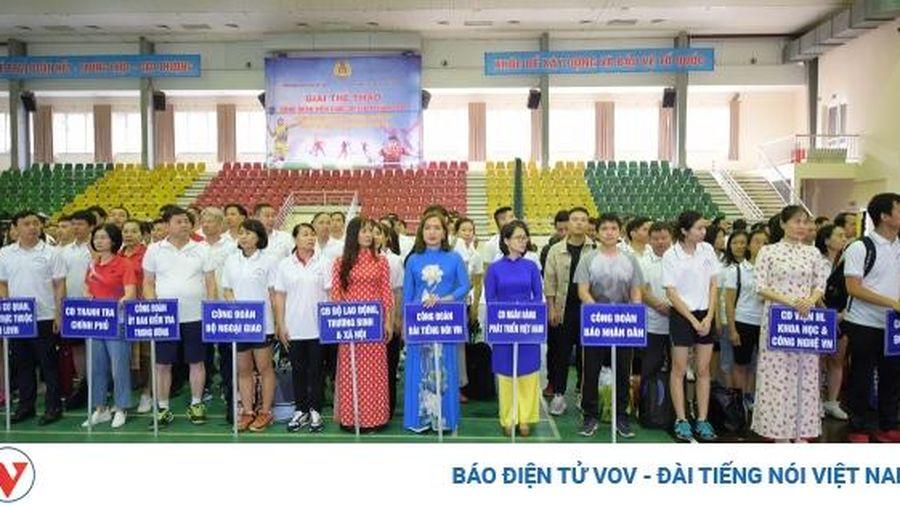 Khai mạc giải thể thao công đoàn viên chức Việt Nam 2020