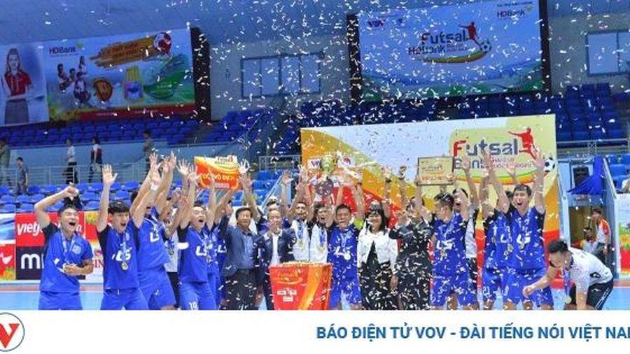 Futsal HDBank Cúp Quốc gia: Thái Sơn Nam đăng quang sau trận 'chung kết trong mơ'