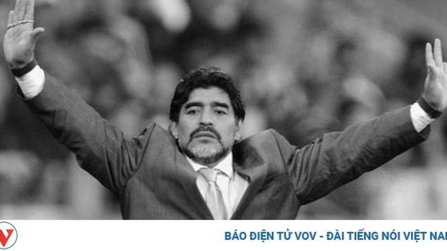 Dư luận thế giới tiếc thương huyền thoại bóng đá Diego Maradona