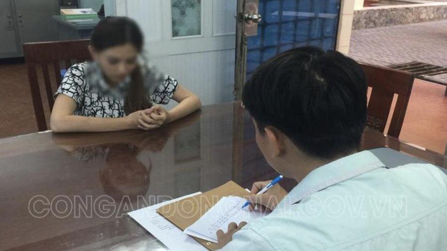 Bắt thiếu nữ 17 tuổi trốn truy nã ở Đồng Nai