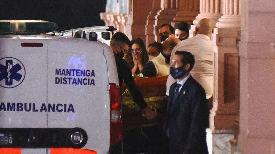 Argentina đưa thi hài Maradona vào Dinh Tổng thống, chuẩn bị 3 ngày Quốc tang
