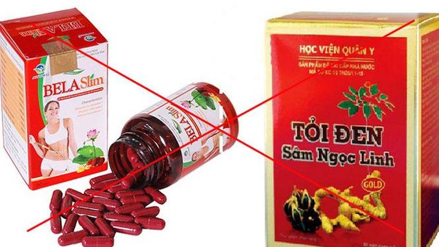 Thu hồi giấy tiếp nhận đăng ký bản công bố 6 sản phẩm thực phẩm bảo vệ sức khỏe