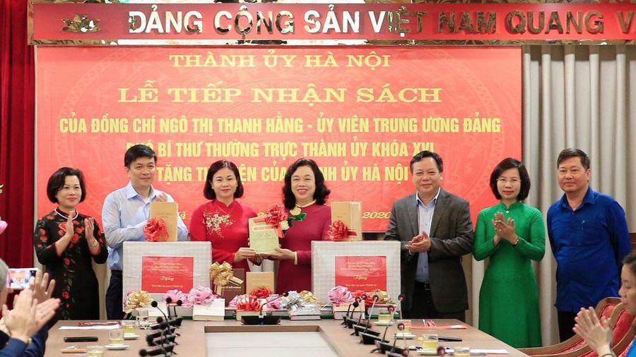 Vận hành hiệu quả Thư viện Thành ủy Hà Nội thiết thực chào mừng Đại hội XIII của Đảng