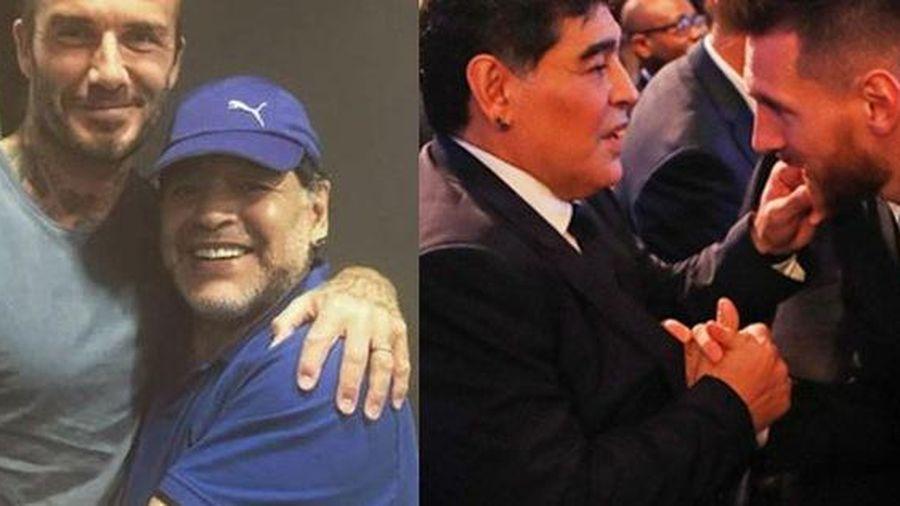 Hình ảnh Maradona trong mắt hậu bối Messi và Ronaldo như thế nào?