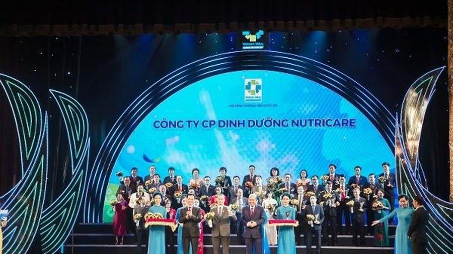 Nutricare tiếp tục được vinh danh thương hiệu quốc gia năm 2020