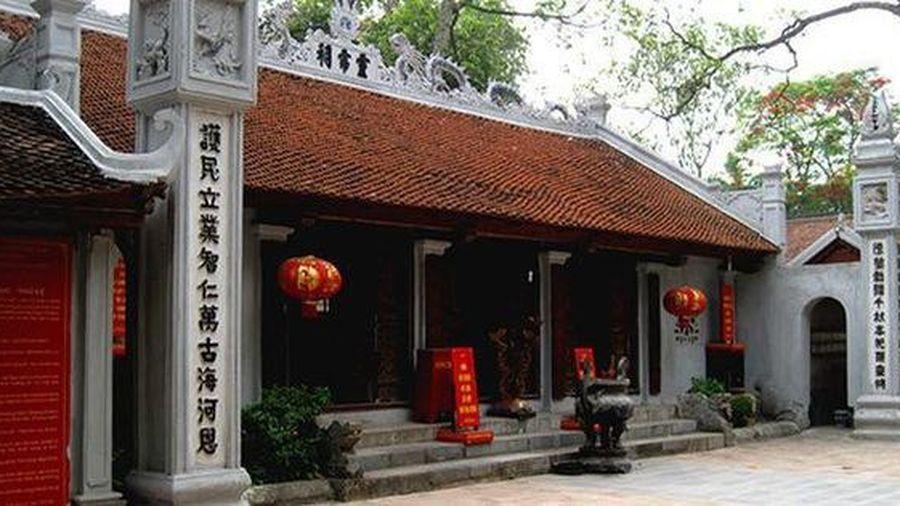 Bộ VHTTDL cho ý kiến về Báo cáo kinh tế - kỹ thuật tu bổ, tôn tạo di tích đền Đặng Giang, TP. Hà Nội