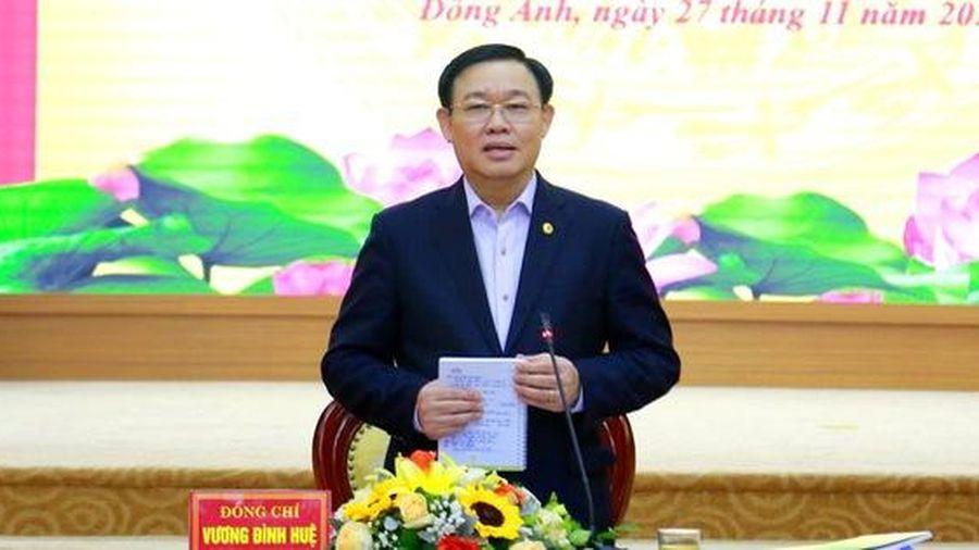 Bí thư Hà Nội: Tránh tình trạng 'Thành phố thì mở, Sở thì tắc'