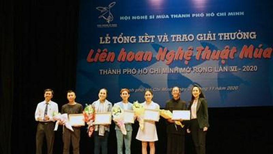 Trao giải Liên hoan Nghệ thuật Múa TP. Hồ Chí Minh mở rộng