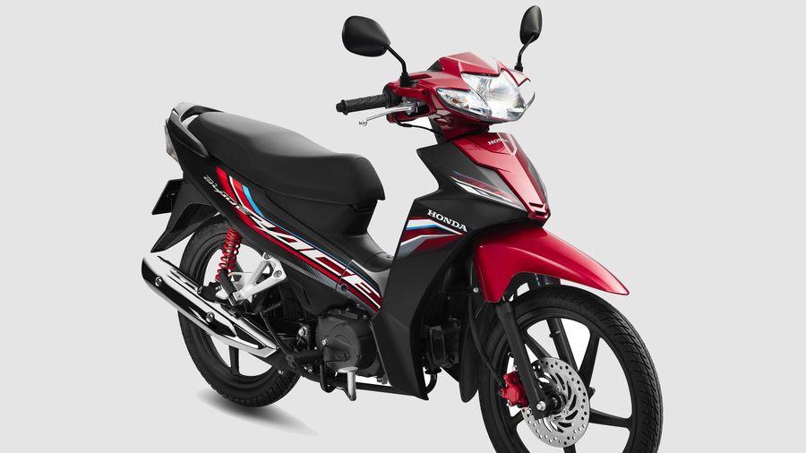 Honda Blade phiên bản mới được ra mắt, loại bỏ công tắc đèn