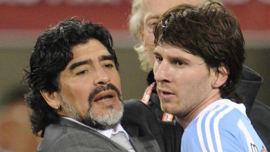 Khả năng gánh đội của Maradona là điều Messi còn thua xa