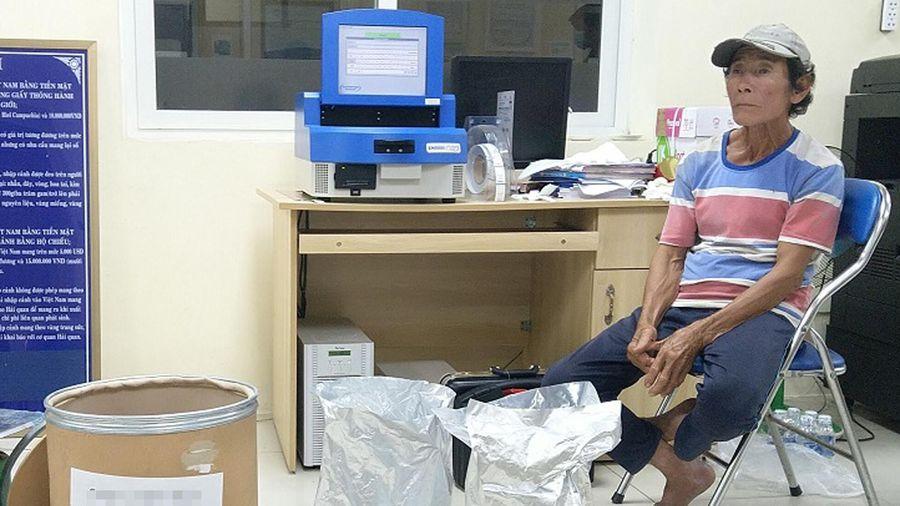 Tạm giữ 30 kg ma túy ở An Giang