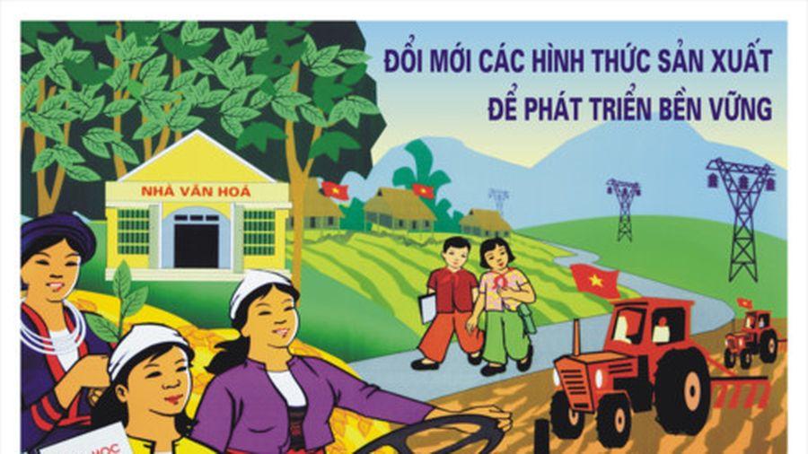 Hội thi Tuyên truyền lưu động 'Cả nước chung sức xây dựng Nông thôn mới'