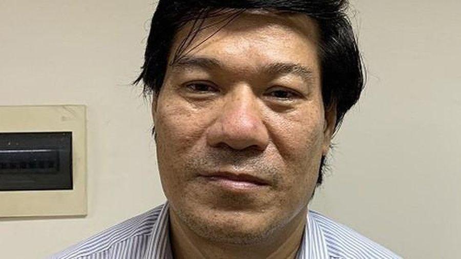 'Thổi giá' thiết bị phòng chống Covid-19, nguyên giám đốc CDC Hà Nội Nguyễn Nhật Cảm sắp hầu tòa
