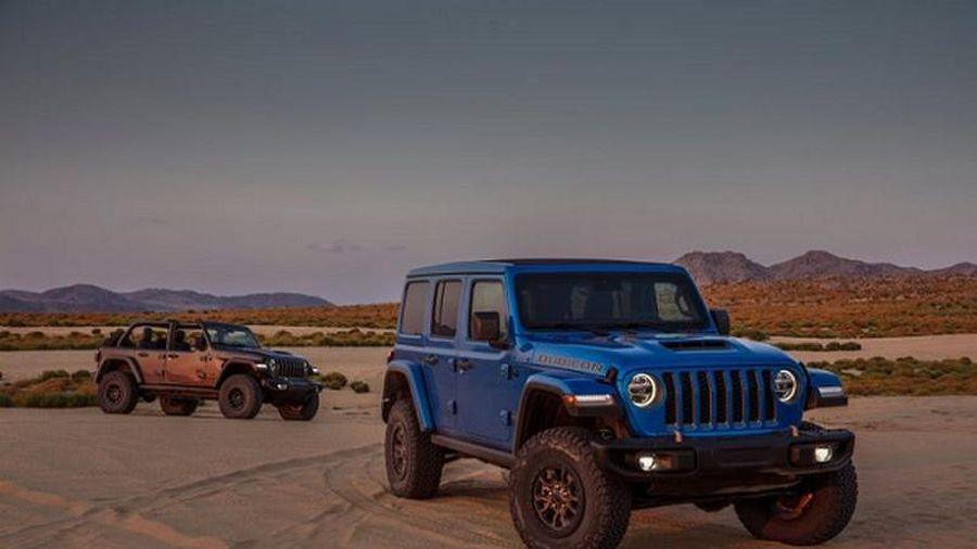 Ra mắt Jeep Wrangler 2021 sử dụng động cơ HEMI V8