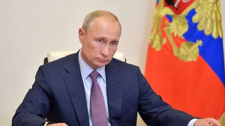 Điện Kremlin nêu điều kiện để ông Putin chúc mừng người chiến thắng bầu cử Tổng thống Mỹ