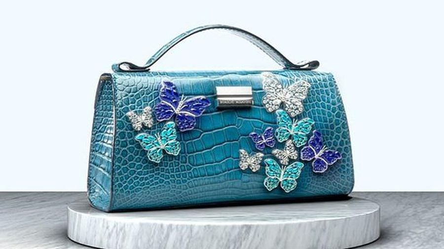 Cận cảnh chiếc túi xách đắt nhất thế giới, giá 165 tỷ đồng