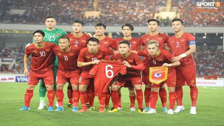 Tuyển Việt Nam tăng hạng, xếp thứ 93 trên BXH FIFA dù không thi đấu