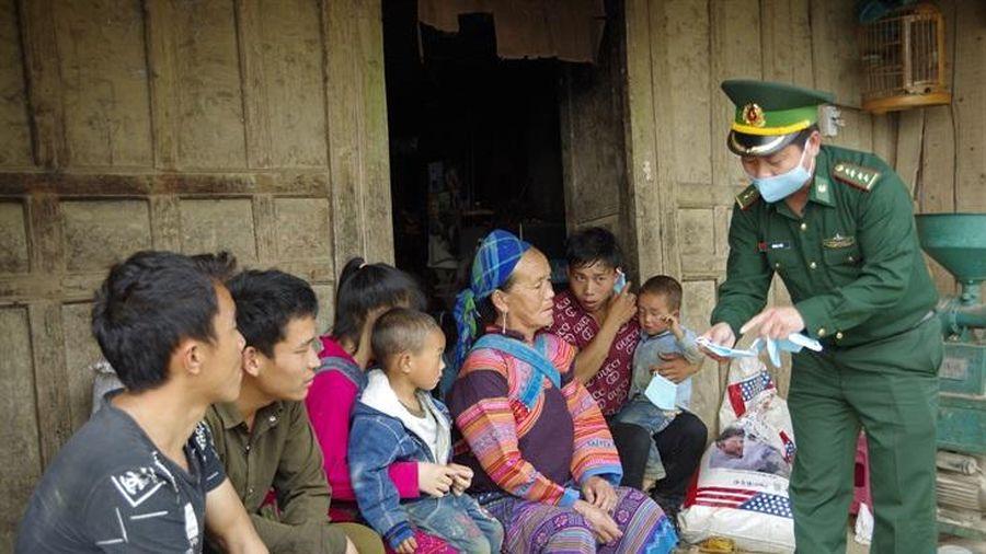 BĐBP Lào Cai: Nâng cao chất lượng công tác vận động quần chúng trên địa bàn biên giới