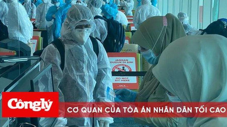 VietJet phối hợp đưa hơn 400 công dân Việt Nam từ Brunei, Singapore về nước