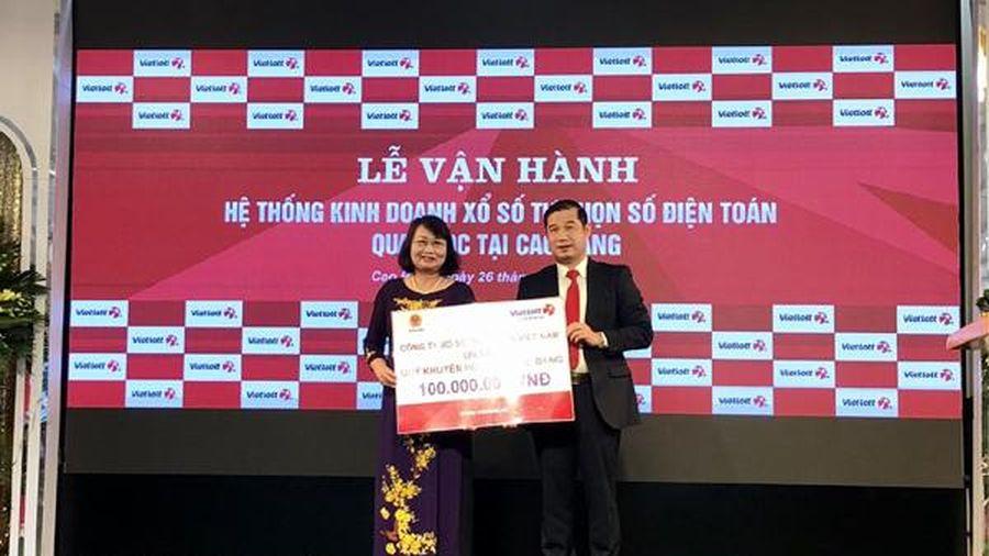Mở bán tại Cao Bằng, Vietlott phủ sóng 62/63 tỉnh thành