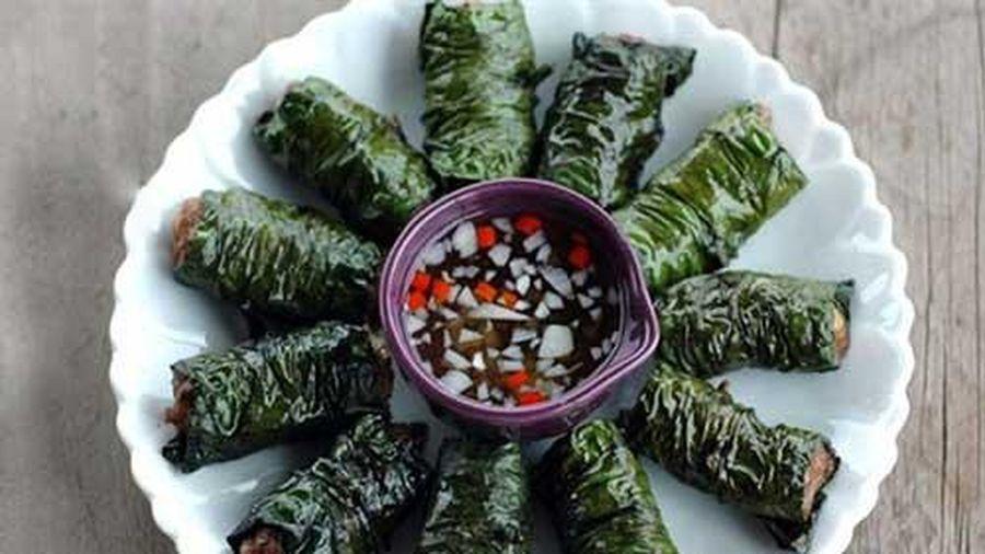 Thịt bò nướng lá lốt thơm lừng cho bữa ăn trọn vị