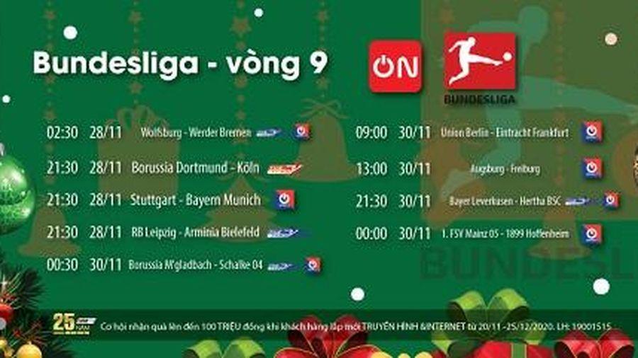 Lịch phát sóng bóng đá La Liga, Bundesliga, Hạng nhất Anh và VBA cuối tuần này