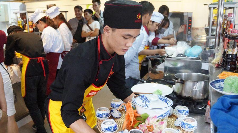 Hội thi tìm sứ giả ẩm thực giúp sinh viên nâng cao kỹ năng nghề nghiệp