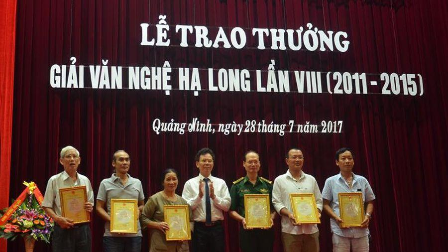 UBND tỉnh ban hành quy chế xét tặng 'Giải thưởng Văn nghệ Hạ Long'