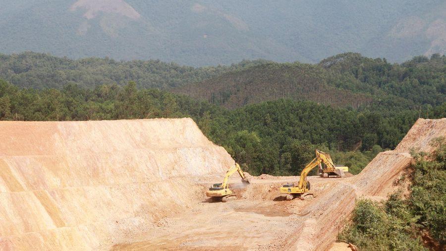 Thi công hồ chứa nước Khe Giữa: Phấn đấu hoàn thành trong năm 2021