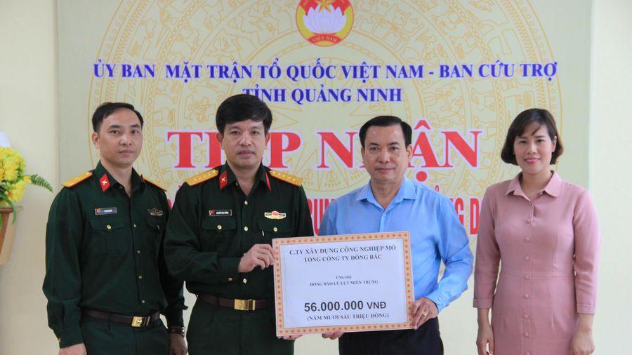 MTTQ tỉnh tiếp nhận gần 290 triệu đồng ủng hộ các tỉnh miền Trung
