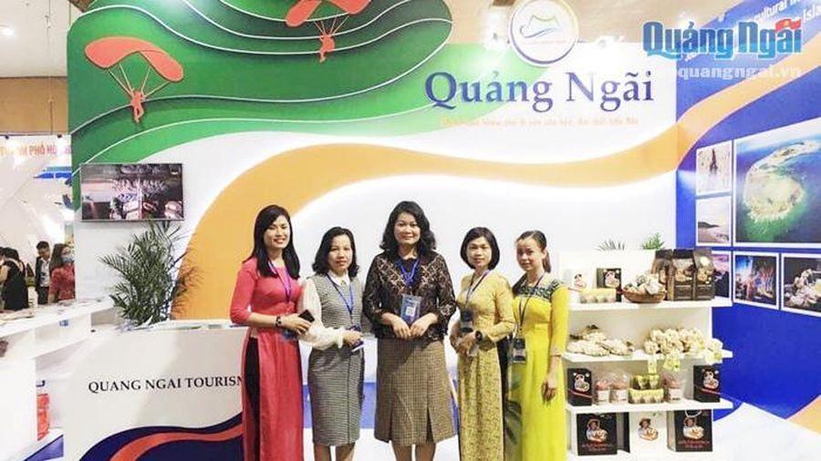 Quảng Ngãi tham gia Hội chợ Du lịch quốc tế tại Hà Nội