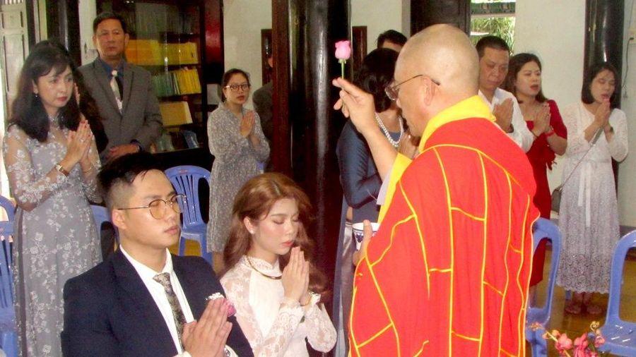 Chùa Kỳ Viên Trung Nghĩa tổ chức lễ hằng thuận cho Phật tử
