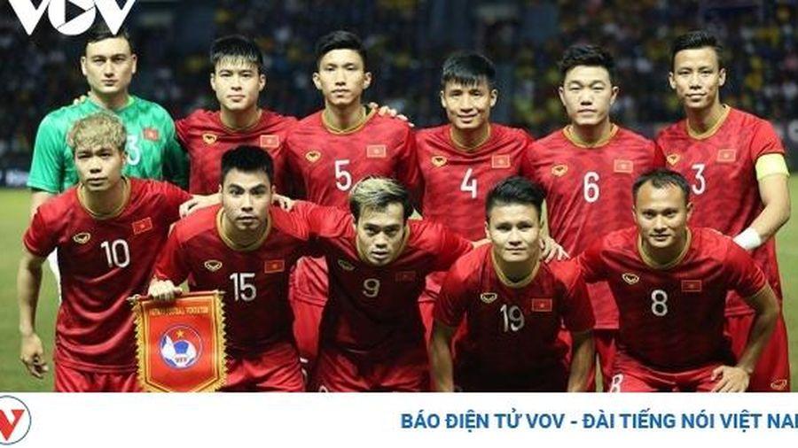 BXH FIFA tháng 11/2020: ĐT Việt Nam lần đầu thăng hạng trong năm