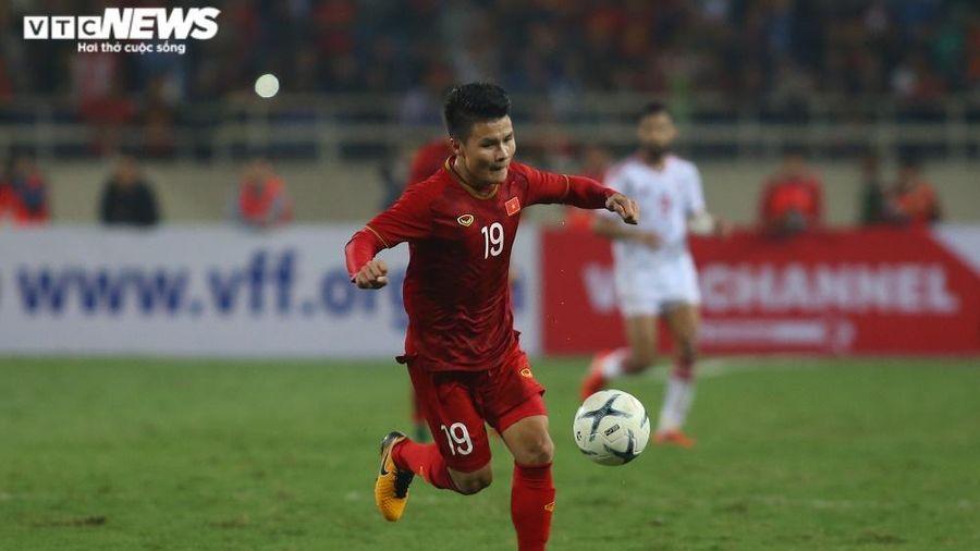 Không đá trận nào, tuyển Việt Nam vẫn tăng hạng FIFA