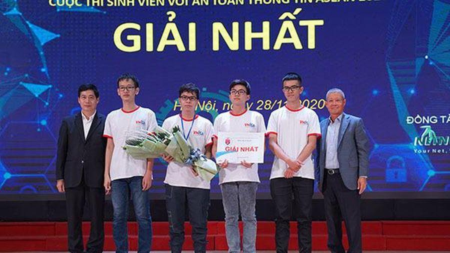 Đại học KHTN TP.HCM vô địch cuộc thi 'Sinh viên với ATTT ASEAN 2020'