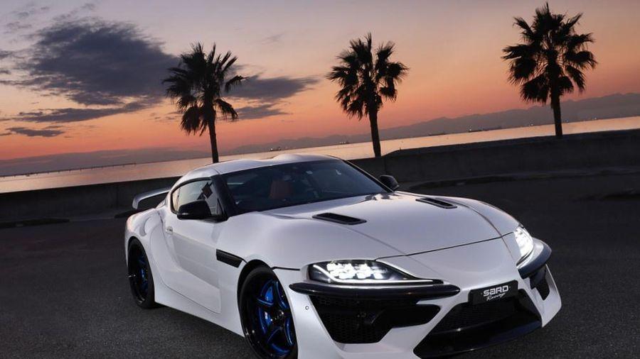 Bản độ Toyota GR Supra mạnh gần 500 mã lực