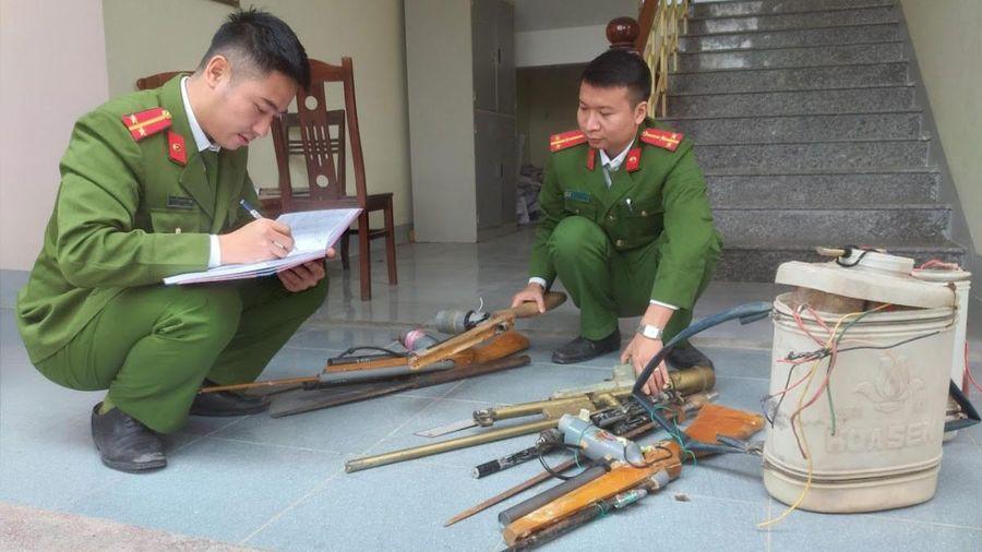 Thu hồi vũ khí, vật liệu nổ ở Nghi Lộc