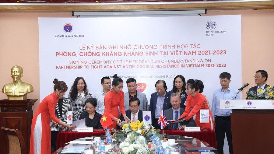Ký kết chương trình hợp tác phòng chống kháng sinh tại Việt Nam