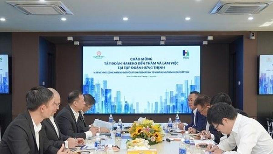 Tập đoàn Hưng Thịnh và Haseko đối thoại hợp tác ứng dụng kinh nghiệm quốc tế vào xây dựng các dự án bất động sản