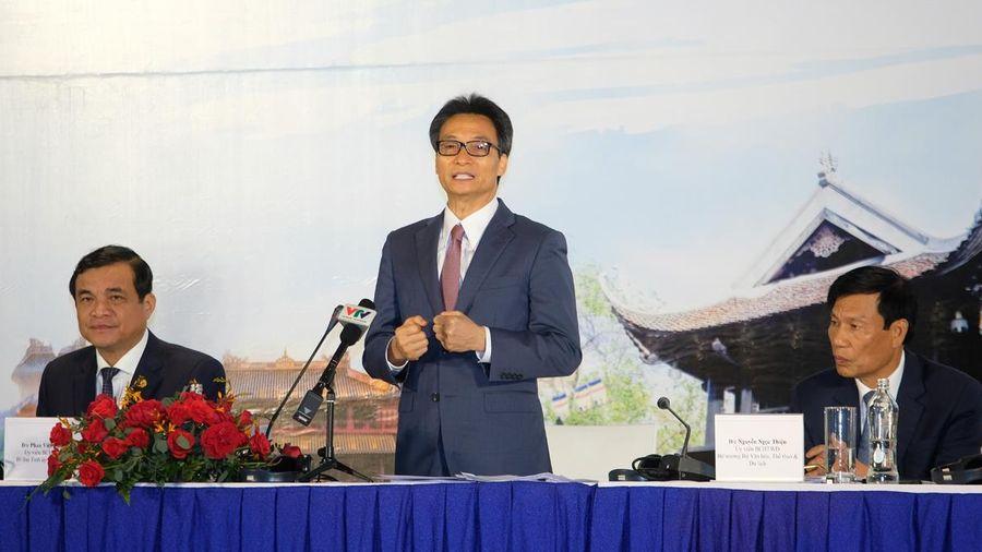 PTT Vũ Đức Đam: Cần số hóa nguồn tài nguyên để phát triển du lịch