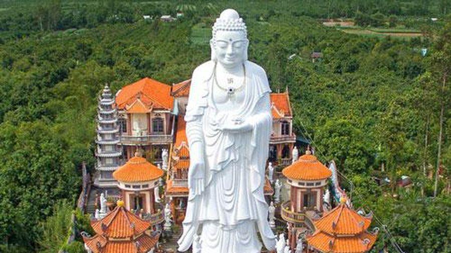 Chùa ở An Giang có tượng Phật Tổ lớn