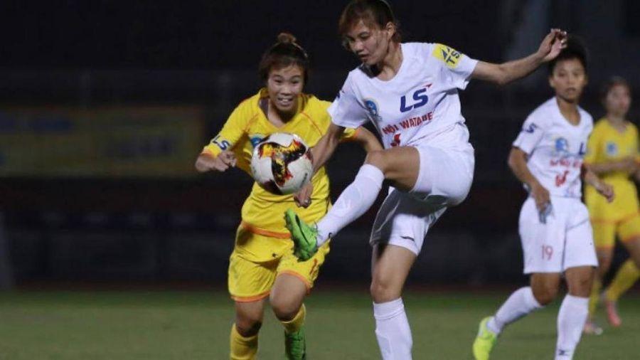 Giải bóng đá nữ quốc gia chứng kiến 'hiện tượng lạ'