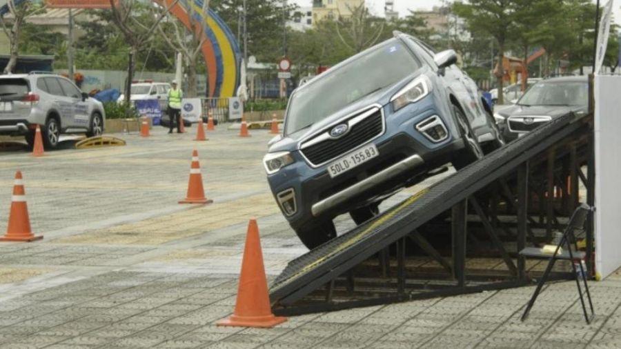 Chứng kiến khả năng chinh phục địa hình vượt trội của Subaru Forester