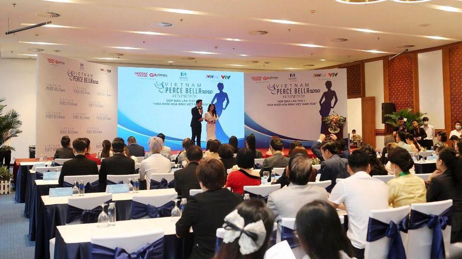 Chưa được cấp phép đã tổ chức họp báo, cuộc thi Hoa Khôi Hòa Bình Việt Nam 2020 có lách luật?