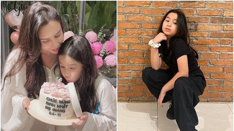 Con gái Hương Giang xin mẹ 'cho con giống những đứa trẻ khác', ai cũng thương
