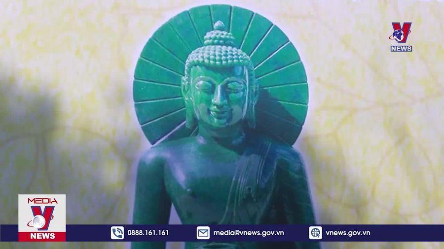 Cung rước tượng Phật bằng ngọc lớn nhất Việt Nam