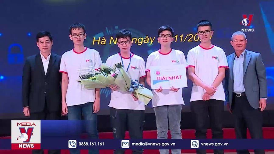Việt Nam dẫn đầu Cuộc thi Sinh viên với An toàn thông tin Asean 2020