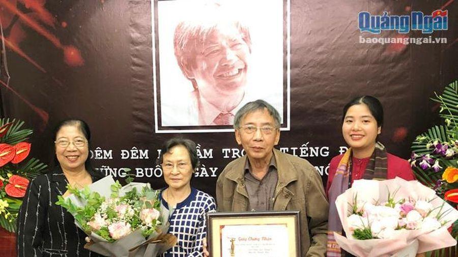 Giải thưởng Văn học Nghệ thuật Nguyễn Đình Thi: Đặc biệt và nhiều ý nghĩa