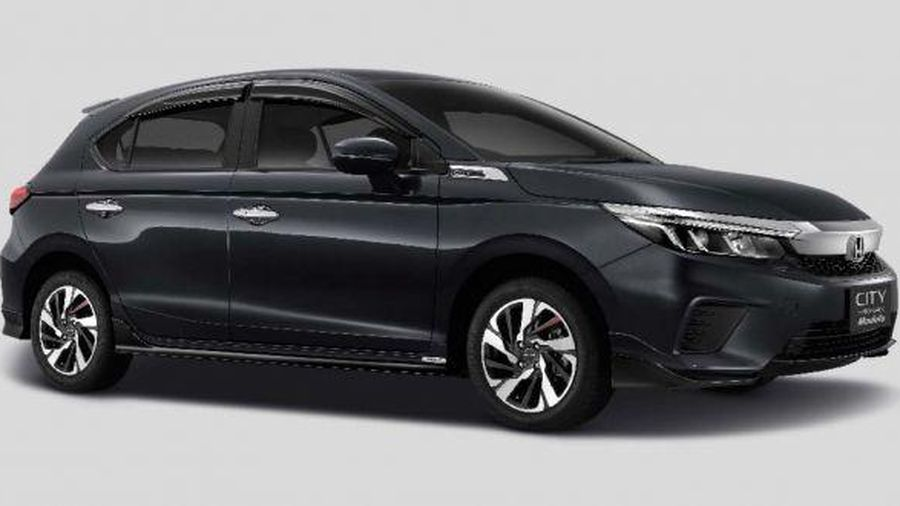 Honda City 2021 hatchback cá tính hơn nhờ bộ phụ kiện Modulo thể thao